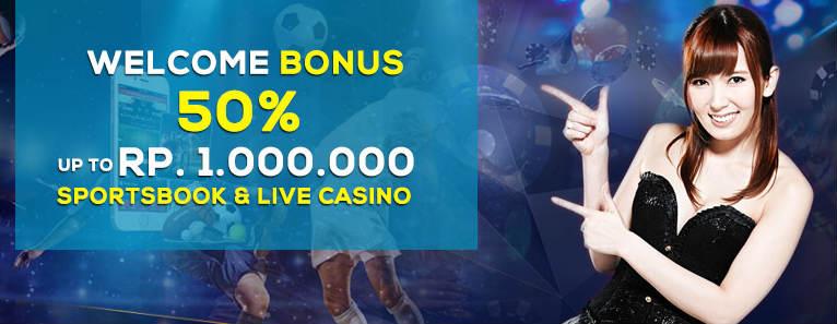 promosi bonus yang diberikan kepada member baru sbobet